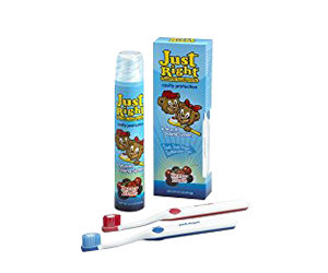 Just Right Children's Toothpaste Review