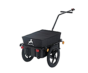 Aosom Enclosed Bicycle Cargo Trailer Review