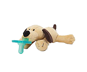 WubbaNub Brown Puppy Pacifier Review