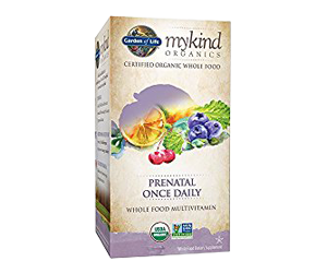 Garden of Life Organic Prenatal Multivitamin Review