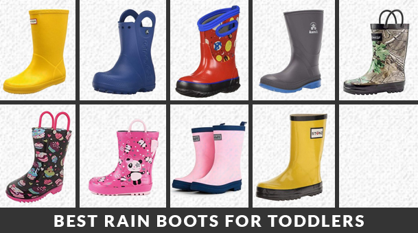 Best Rain Boots for Toddlers