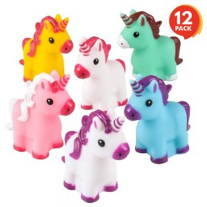 ArtCreativity Unicorn Rubber Toys for Kids