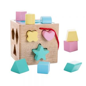 Babe Rock Shape Sorting Cube