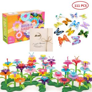 Flower Garden Building Set