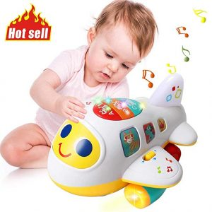 Huile Baby Toys Electronic Airplane Toys
