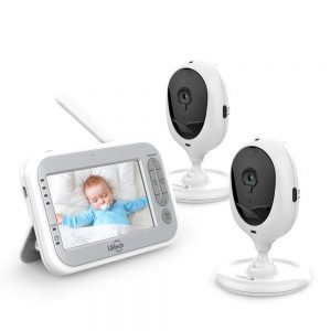 LBtech Two Cameras Video Baby Monitor
