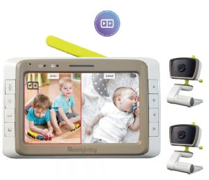 MoonyBaby Baby Monitor with Split Screen