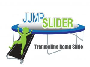 Trampoline Wide 2-Step Ladder
