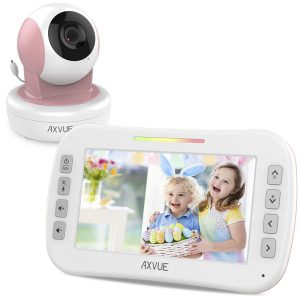 Video Baby Monitor E9650-P with Remote-Controlled Camera